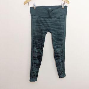 NUX Space-Dye Seamless High-Rise Leggings Blue M